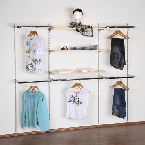 Fabricacion mobiliario comercial montaje integral - Estanterias para ropa ...