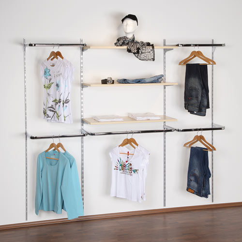 Fabricacion mobiliario comercial montaje integral - Estanteria para ropa ...